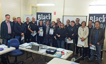 Black Dog Ride Mental Health First Aid Training (MHFA) July 2015 Participants