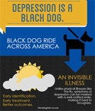 Black Dog Ride across America - Depression is a Black Dog