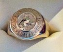 Black Dog Ride 2014 Prize 9ct Gold Ring