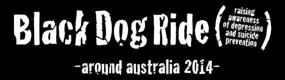 Black Dog Ride around Australia 2014