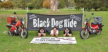 Post Me To Splendour Proudly Supporting Black Dog Ride - Albany Boys