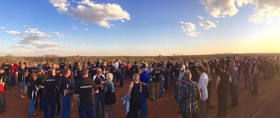 Black Dog Ride to the Red Centre 2015
