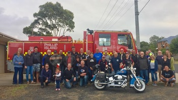 Black Dog Ride at Phillip Island CFA