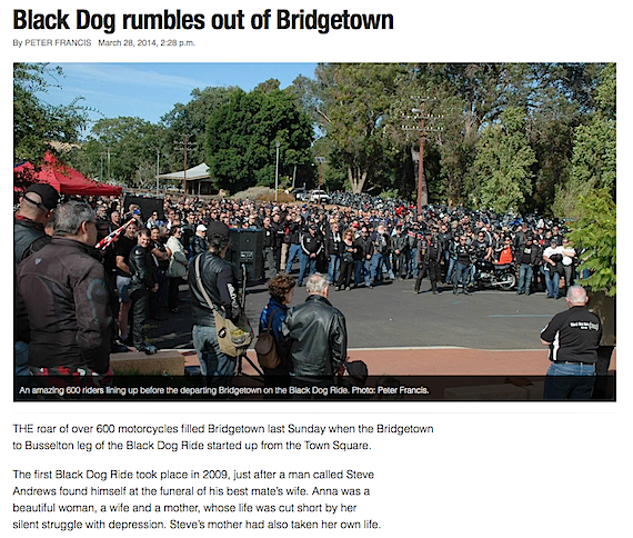Black Dog Ride 1 Dayer Media Bridgetown