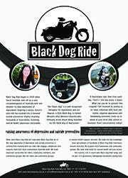 Black Dog Ride Information Flyer