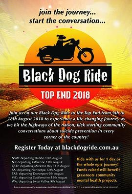 Black Dog Ride to the Top End 2018 General Flyer Thumbnail