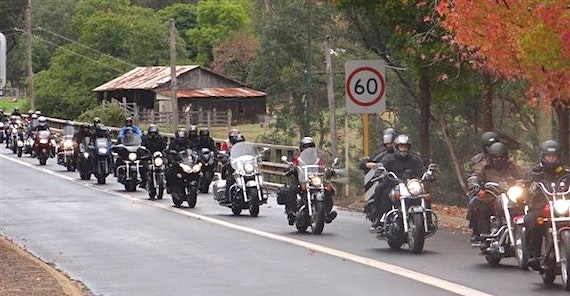 Black Dog Ride, Nannup WA, 2012