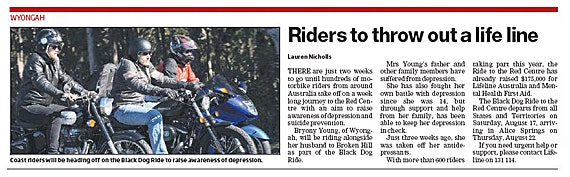 Black Dog Riders Throw Out A Lifeline